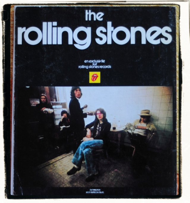 Rare, out of print Stones book featuring Dominique Tarle photographs