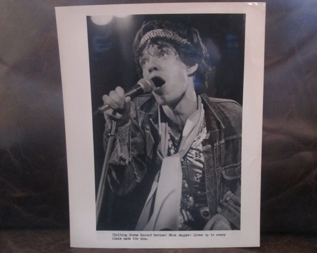 Original press wire photographs (from the