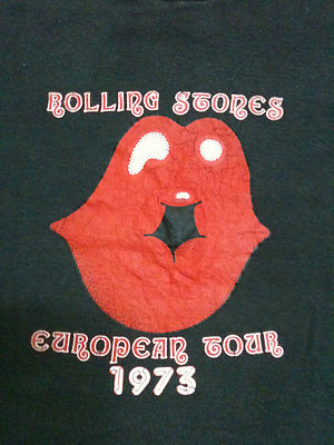 Original T-shirt and design from the 1973 European tour