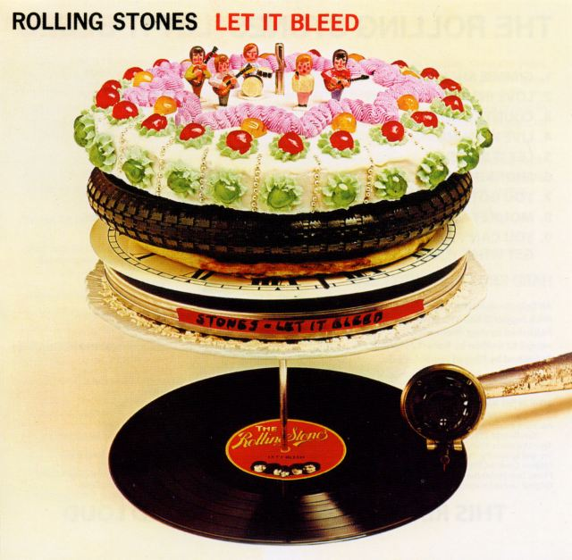 The Rolling Stones Let It Bleed album cover