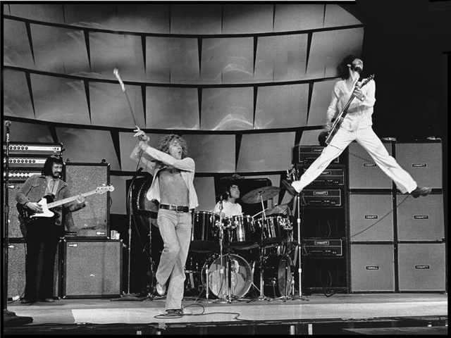 The sound of a jet taking off? Nope, it's just The Who in full flight.