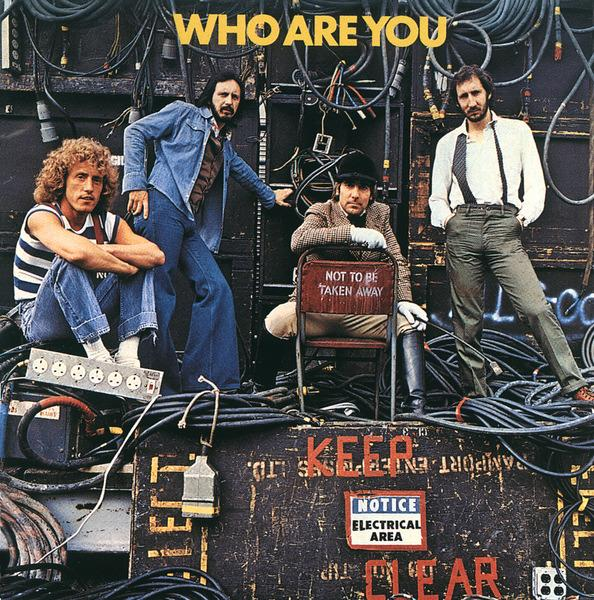 "Not To Be Taken Away: The cover for the ""Who Are You"" LP, 1978, Keith's last photo session."