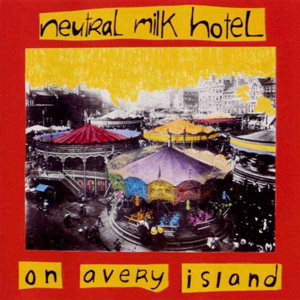 "The cover of ""On Avery Island"", Neutral Milk Hotel's debut album, 1996."