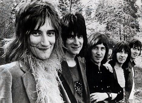 Are we havin' a laugh? Faces publicity shoot circa 1970.
