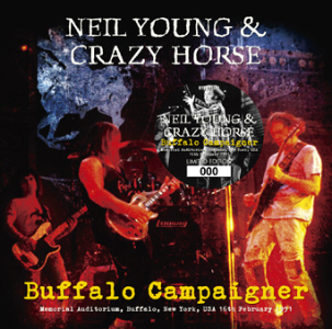 Buffalos roam the earth (and the stage) for a long time. This one does it with a Gibson Les Paul and a humongous Marshall stack. Or ten. Here's the cover of a new