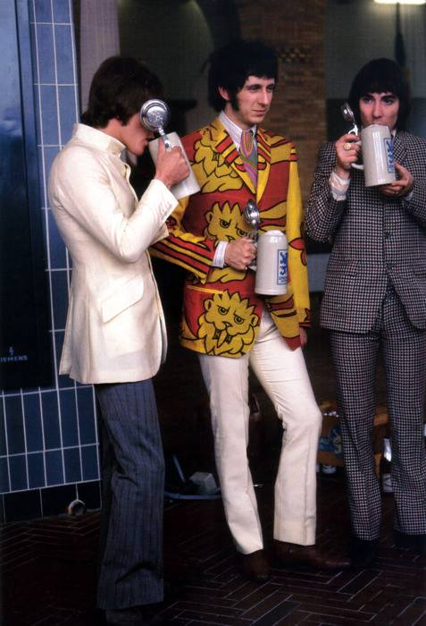 The Who Whet Their Whistle, circa 1967.