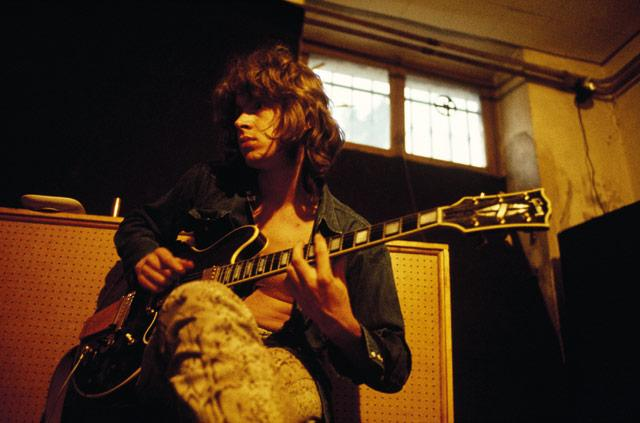 "Mick during the ""Exile"" sessions, 191. Photo by the great Dominique Tarle"