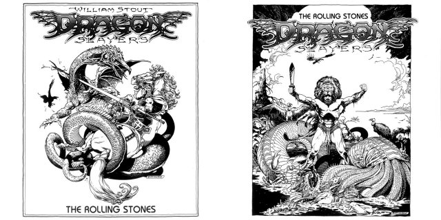 The esteemed artist and illustrator William Stout did this amazing cover for the