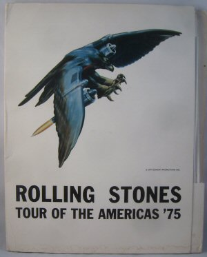 Folder for the official 1975 U.S. Tour of The America's '75 press kit pack