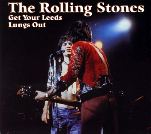 One of the many unofficial LPs, CDs, VHS, and DVDs issued over the years capturing the Stones' legendary Marquee and/or Leeds shows.