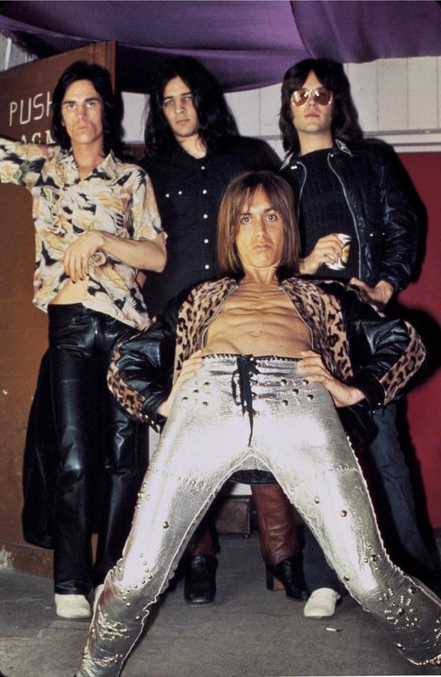 The always subtle Stooges! (Photo credit: the legendary Mick Rock)