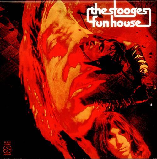 "One of the coolest LP covers ever: Iggy as human lava lamp and the Stooges' ""Fun House,"" 1970."