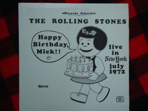 A super-scarce version of one of the best sounding unofficial audio documents of the '72 tour: the band's July 26 date at Madison square garden, which was the occasion of Mick Jagger's 29th birthday. Rumors swirled over the years that the tape, because of its professional clarity, was pilfered right from the MSG soundboard.