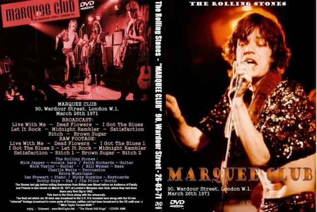 Marquee Club DVD from where this video comes.