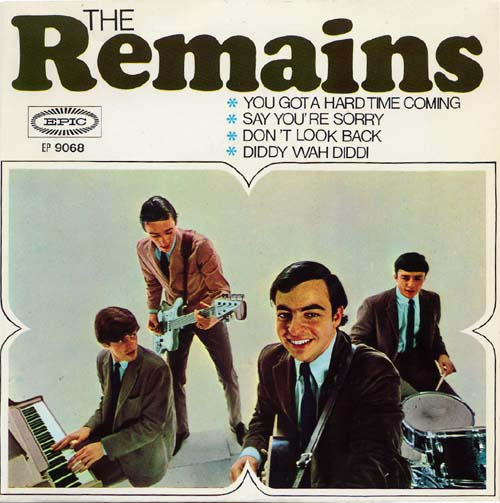 Remains 1966 Psychedelic Rocknroll Boston Garage Beatles Barry Tashian Vern Miller Billy Briggs