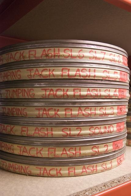 Original tape reel canisters for