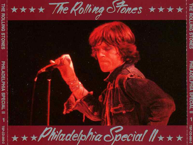 MICK AT THE MIKE: Action shot '72, used for the cover of The swingn' Pig's sequel to 'Philadelphia Special