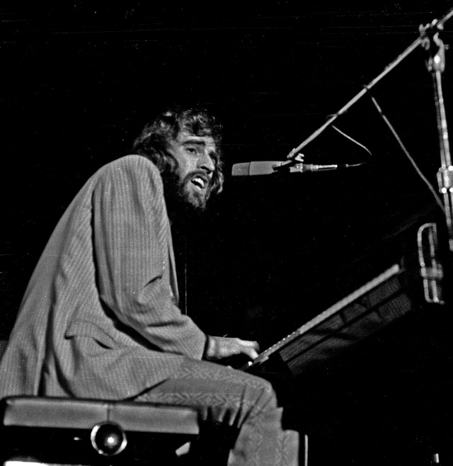 Pianist Richard Manuel, 1971
