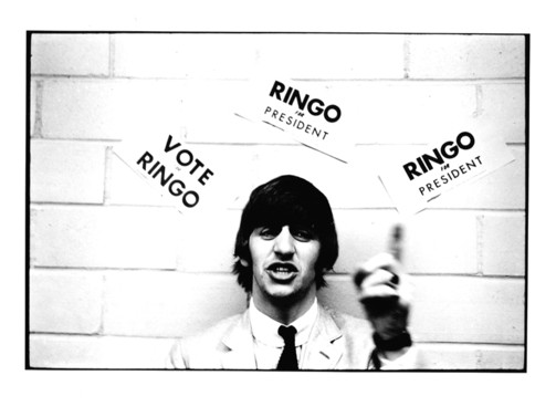 Ringo kept his campaign promise to never show-off or overplay