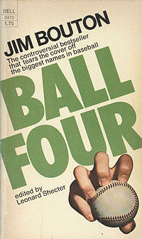 "The baseball book that started it all ... and by all, I mean ""tell-all."""