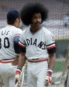 Frotastic Fun: I bet the old hidden ball trick works well when Oscar Gamble's around. Good ballplayer, Hall of Fame hair.
