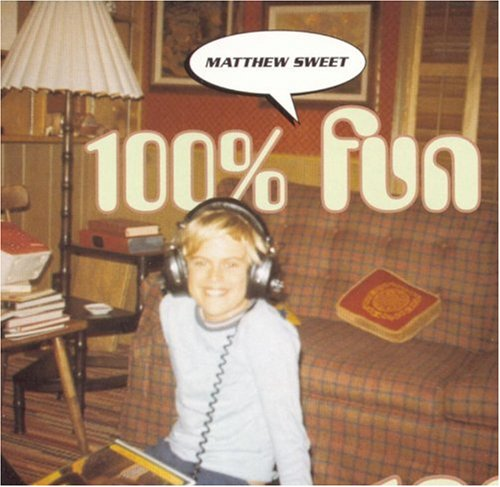 "HAPPINESS IS HEADPHONES: The cover of Sweet's fifth album, 1995's ""100% Fun."""
