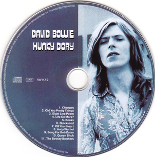 Hunky Dory enters the CD age