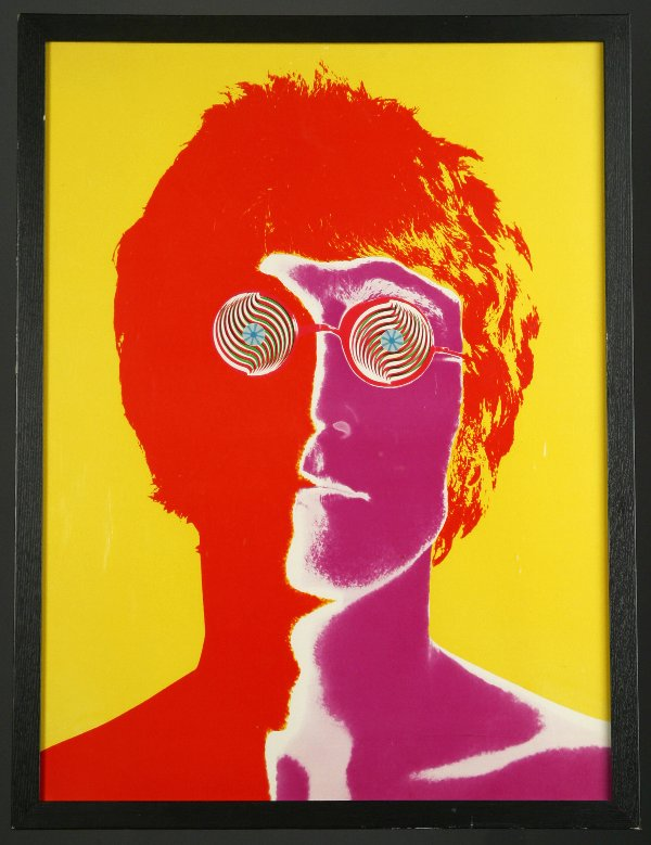 LOOK LENNON: Richard Avedon's 1967 portrait of John Lennon for