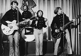 Monkees publicity still (shake those maracas, Davy!)