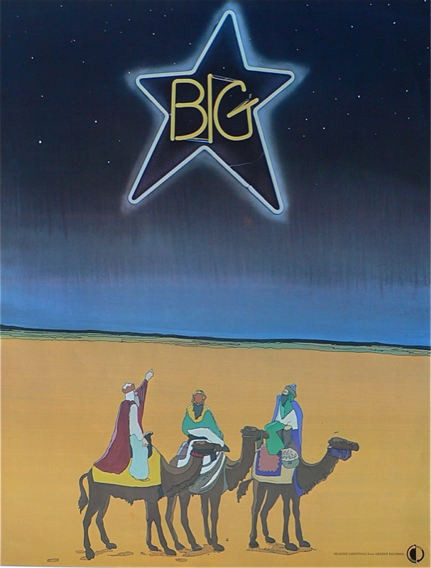 Following Big Star: Promo ad and image for Big Star's debut LP, #1 Record