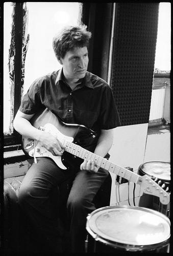 Turn up my guitar willya?