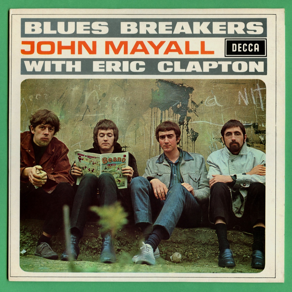 BEANO'S BLUESBREAKING BEST: When Clapton Really WAS God (And Who Created Him? Why, John Mayall, Of Course!) (1/4)