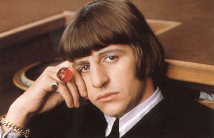 He's not named Ringo for nothing!