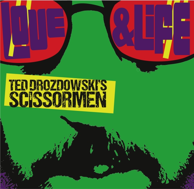 Love, Life, and Ted's Mustachioed Mug grace the new album cover.