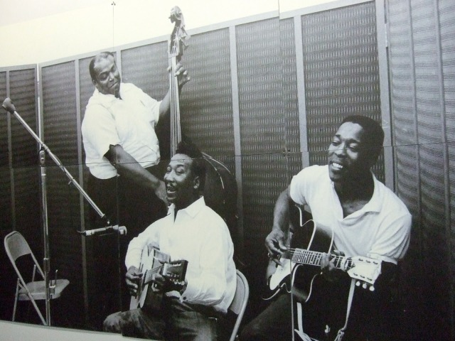 Blues Power Trio, L-R: Willie Dixon, Muddy Waters, Buddy Guy