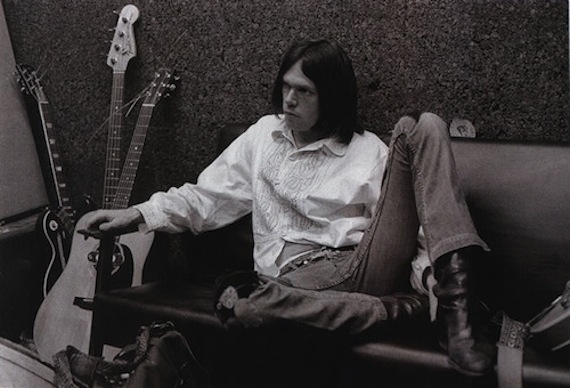 The Old Man as a Young Man: Neil Young, circa 1970.
