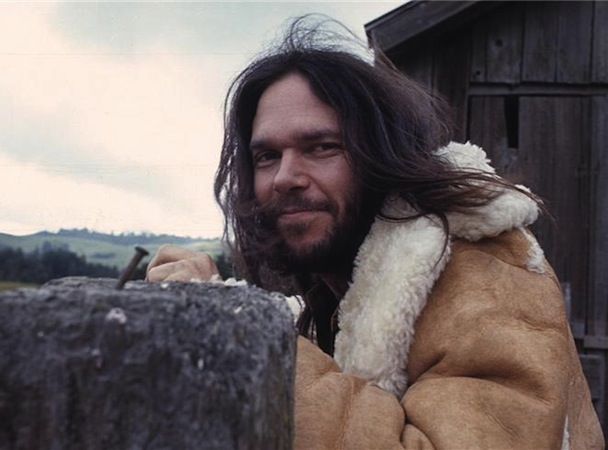 It gets cold in Canada: Neil Young in the 1970s.