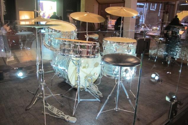 Charlie Watts' Ludwig drum kit, 1965-1968