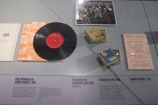 First recordings, 1963