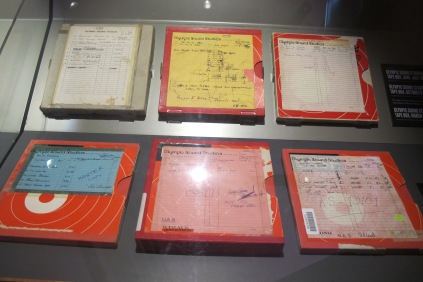 Olympic Sound Studio tape box reels for some of the greatest rock and roll ever made