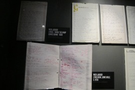 """Some Girls"" lyric notebooks"