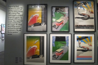 John Pasche's iconic designs for the 1970, '71, and '72 tour posters