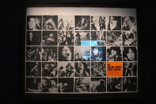 "Original poster of film stills from ""Gimme Shelter"""