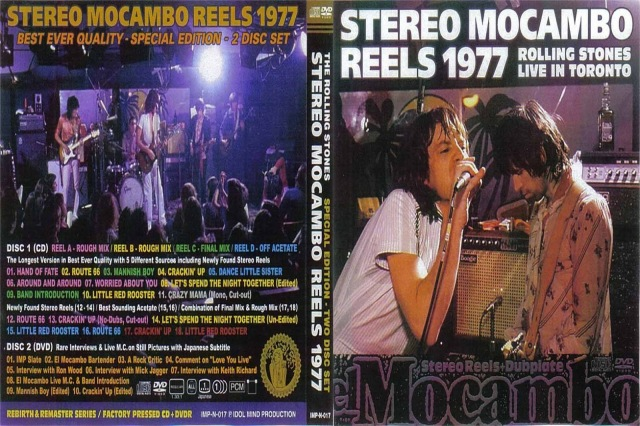 DVD - The Rolling Stones Stereo Mocambo Reels 1977