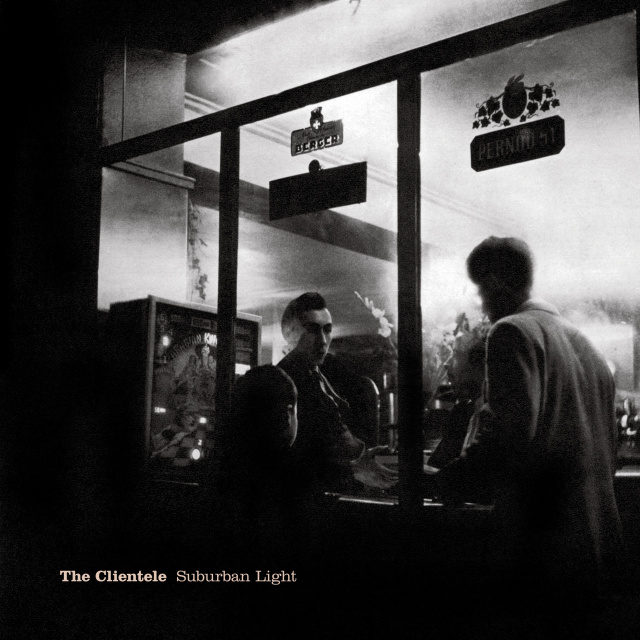 """The UK cover to the Clientele's """"Suburban Light."""""""